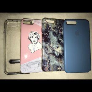 Accessories - BUNDLE: iPhone 7+ cases!